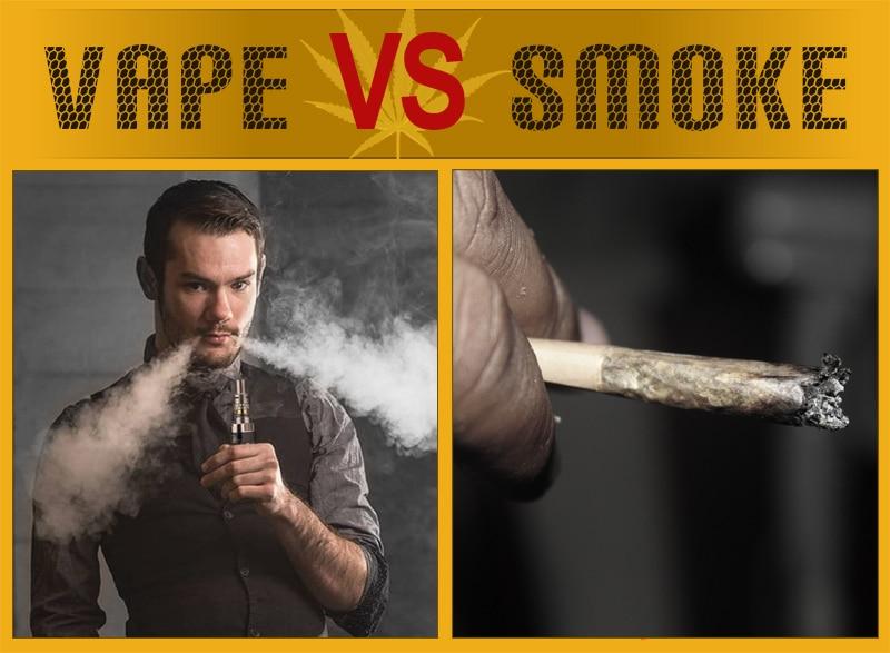 Οι διαφορές μεταξύ της άτμισης και του καπνίσματος της κάνναβης