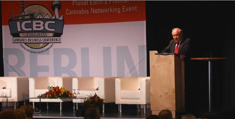 Raphael Mechoulam at the ICBC in Berlin (Video)